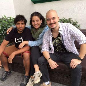 Kiko, Beatriz e Leonardo